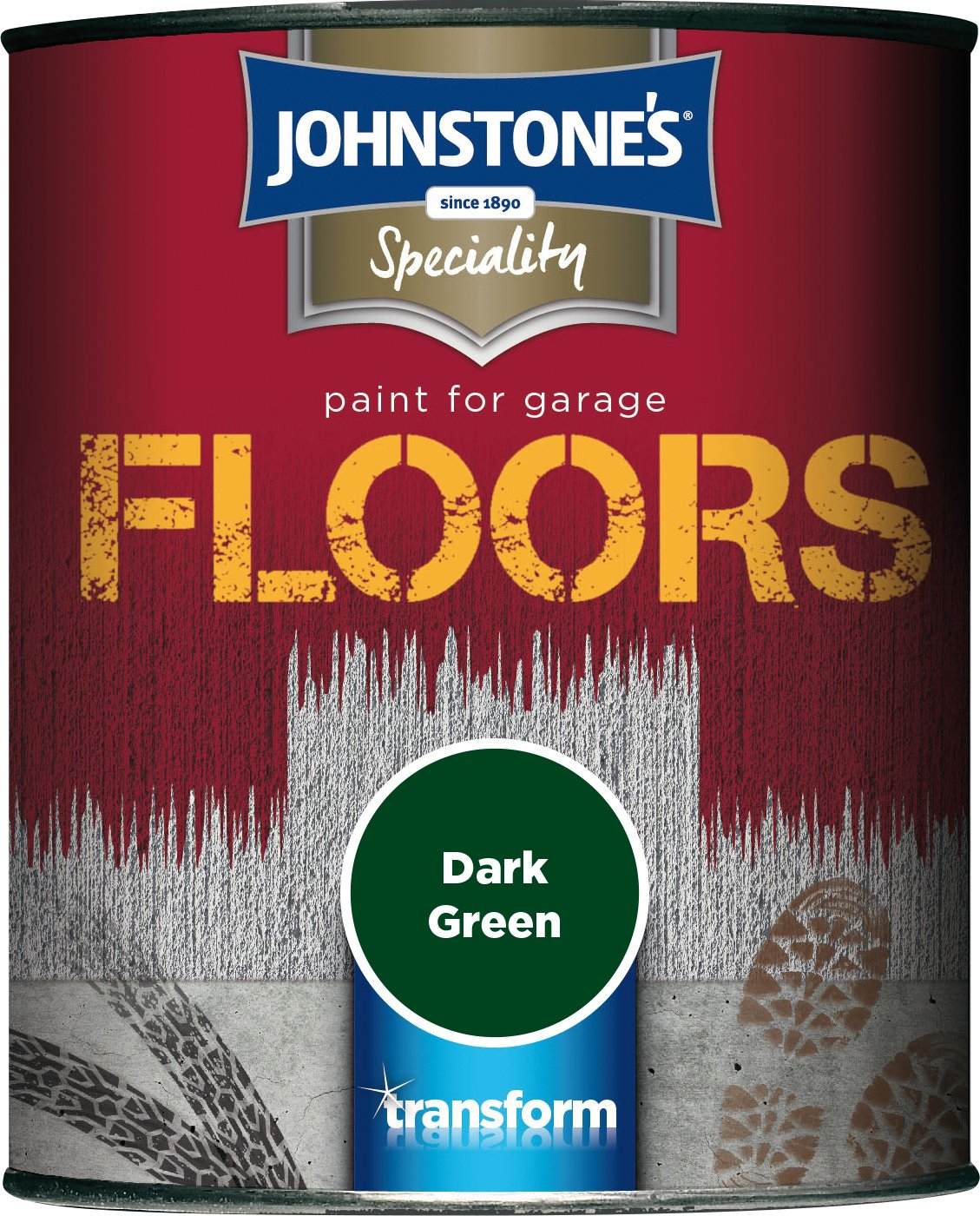 Johnstone's 307938 250ml Garage Floor Paint - Dark Grey PPG Architectural Coatings UK & Ireland