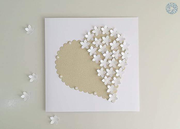 Biglietto Di Auguri Per Matrimonio Nozze Amore Sposi