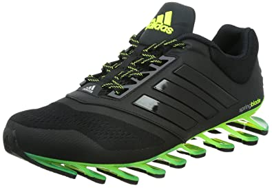 new products 0b393 a29d9 Adidas Men s Springblade Drive 2 M Core Black, Solar Yellow and Solar  Yellow Running Shoes