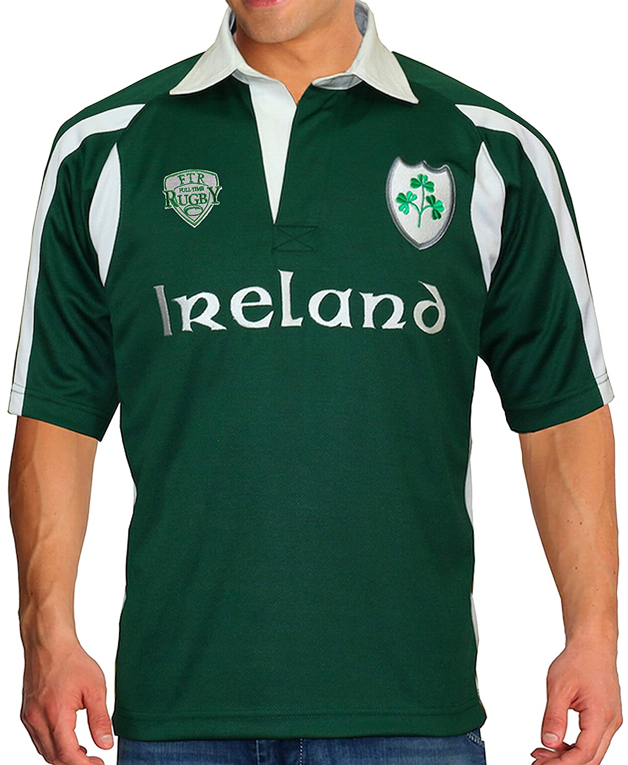 Full Time Sports Ireland Breathable Rugby - XXX Large: Amazon.es ...