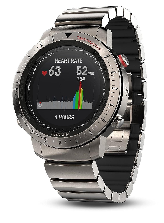 Garmin Fenix Chronosチタン腕時計 チタン