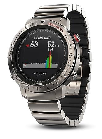 Amazon.com: Garmin Fenix Chronos Titanio Reloj: Sports ...