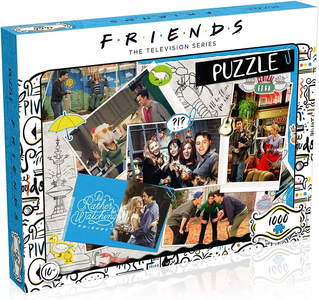 Friends Collage 1000 Piece Jigsaw Puzzle