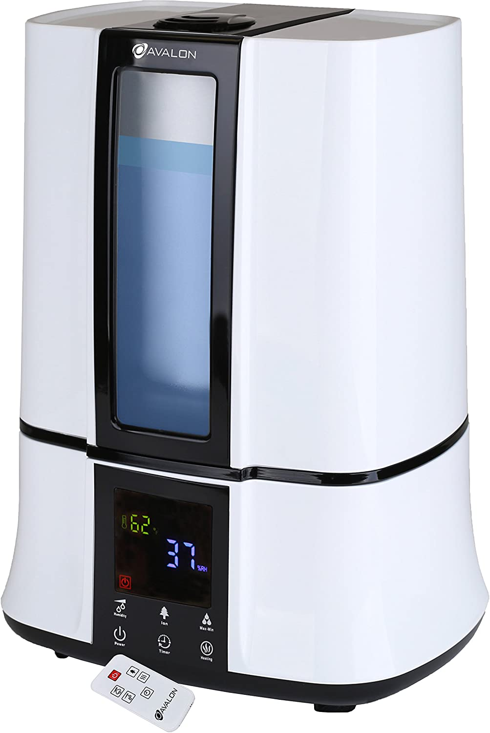 Avalon Warm/Cool Mist Humidifier, White
