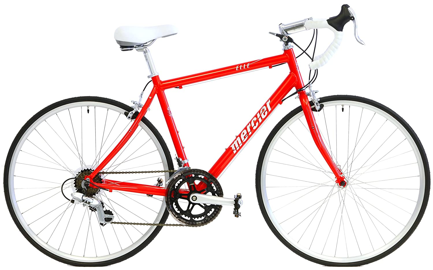 Amazon.com : Mercier Elle Sport Womens Specific Road Bike Shimano 14 Speed : Sports & Outdoors