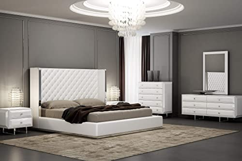 Whiteline Modern Living Abrazo Bed