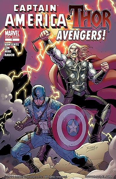 Captain America & Thor!: Avengers #1 (English Edition) eBook ...