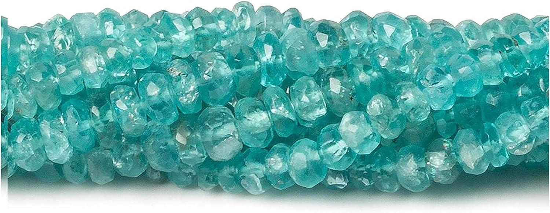 2 mm naturel /à facettes Apatite perles en vrac de pierres pr/écieuses semi pr/écieuse pour la fabrication de bijoux boucle doreille collier bracelet