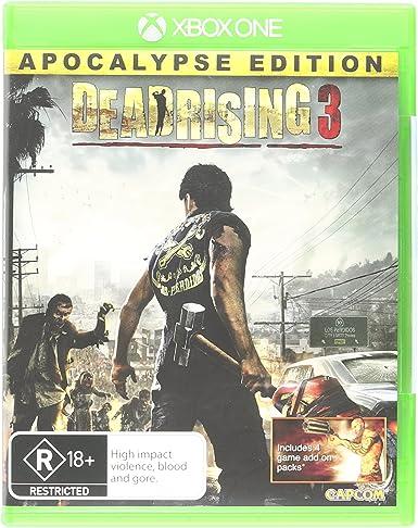Microsoft Dead Rising 3, Xbox One Básico Xbox One Inglés vídeo ...
