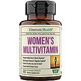 Women's Daily Multivitamin Supplement. Vitamins and Minerals. Chromium, Magnesium, Biotin, Zinc, Calcium, Green Tea. Antioxid