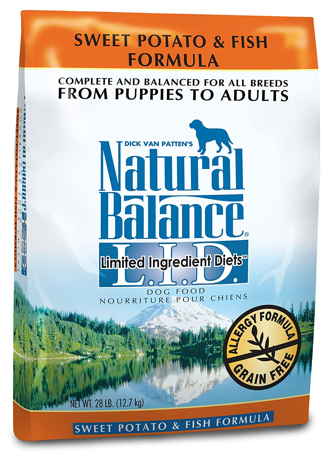 Amazon.com: Natural Balance Dry Dog Food, Grain Free Limited ... | Natural Balance Dog Food Allergies