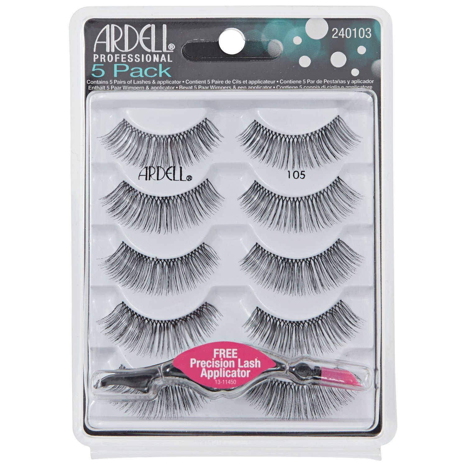 Amazon Ardell Fashion Lashes Pair 117 Pack Of 4 Fake
