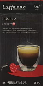 Caffesso Intenso Gourmet Coffee Capsules Single Pack