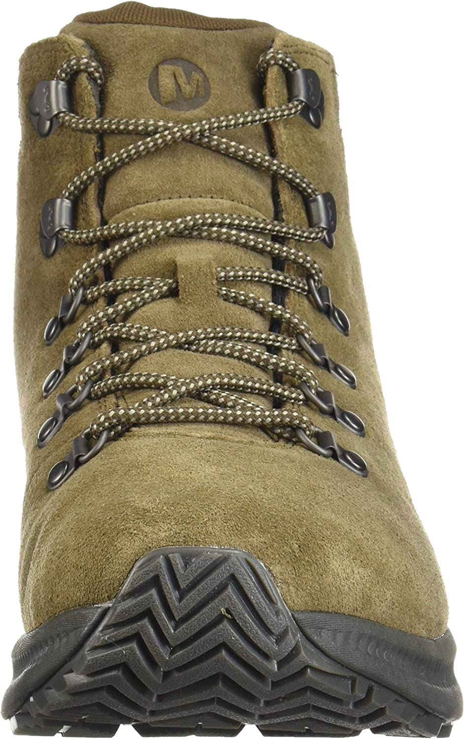 Merrell Mens Ontario Suede Mid Hiking Boot