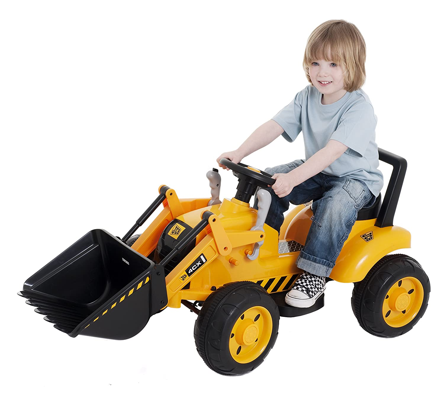 "JCB ""Battery Operated Ride "" Toy Amazon Toys & Games"
