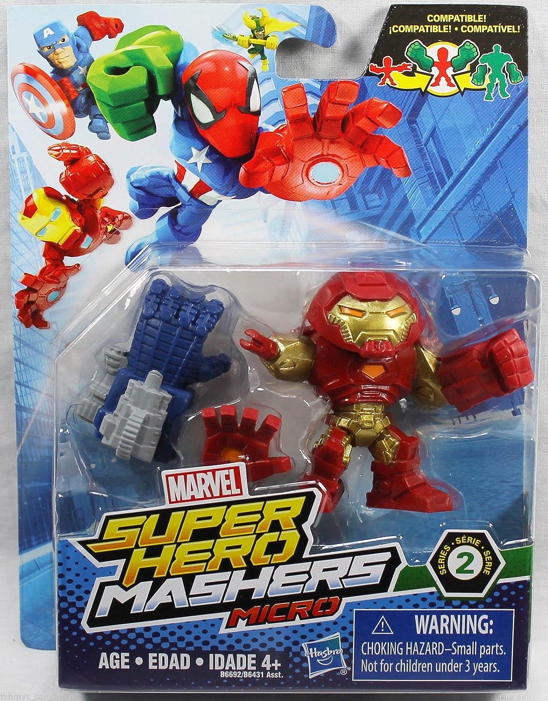 Hulk Buster Marvel Super Hero Mashers Micro Series 2 Mini Figure