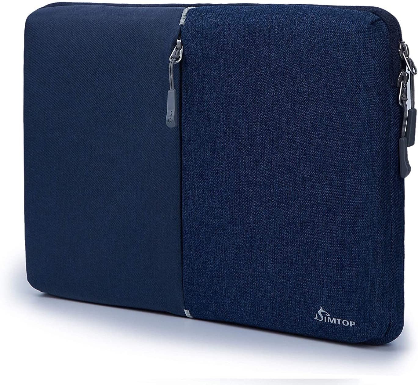 SIMTOP 360° Protection 13.3 Inch Laptop Sleeve, Water Proof Laptop Case Bag Perfect with MacBook Air 13.3 Inch A1369 A1466 and MacBook Pro 13.3 Inch A1502 A1425 12.9 inch ipad pro.YKK Zipper Bag