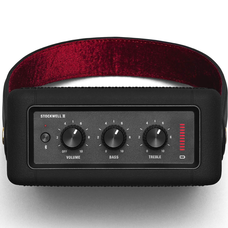 Open-Box & Unused Marshall Stockwell II Portable Bluetooth Speaker (Black) kida.in