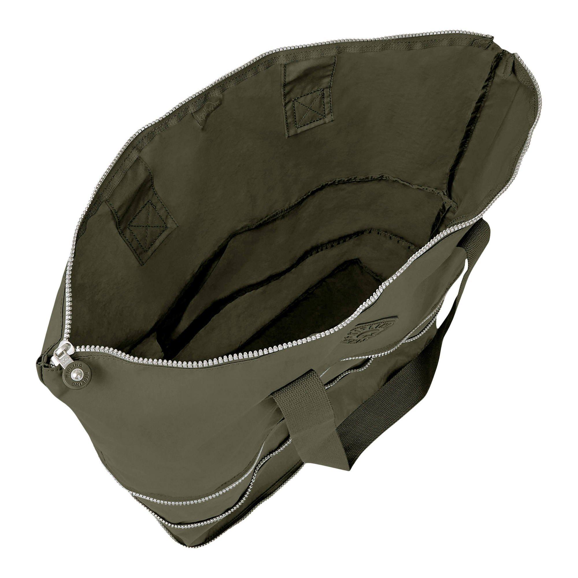 Kipling Imagine Foldable Tote Essential Travel Bag, Jaded Green