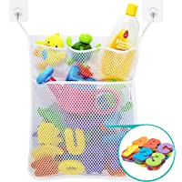 Wemk Bath Numbers and Letter, 36 Pieces Alphabet & Numbers (A-Z, 0-9), with Bath Organizer and 2 Self-Adhesive Hooks…
