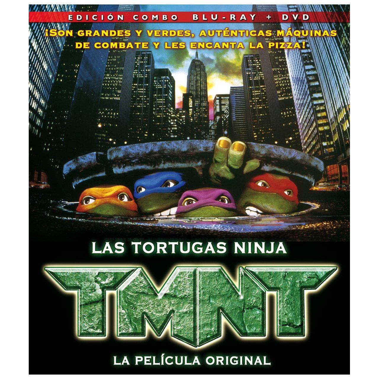 TMNT 1, La Película Original [Blu-ray]: Amazon.es: Animacion ...