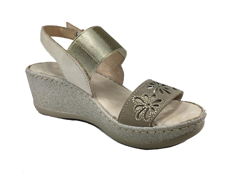RIPOSELLA Riposella 11233be, sandales femme - beige - Beige, 38 EU