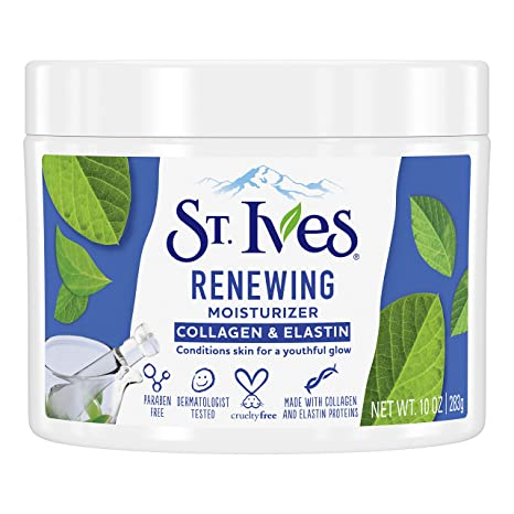 Amazon.com: St. Ives Face Moisturizer for Dry Skin, Paraben free ...
