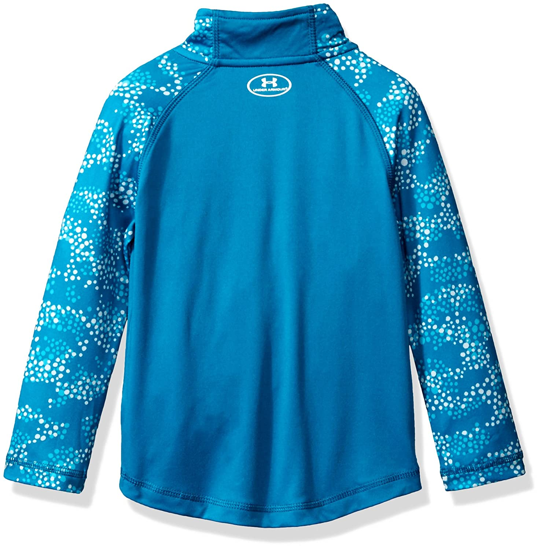 Under Armour Girls 1//4 Zip Long Sleeve Pullover