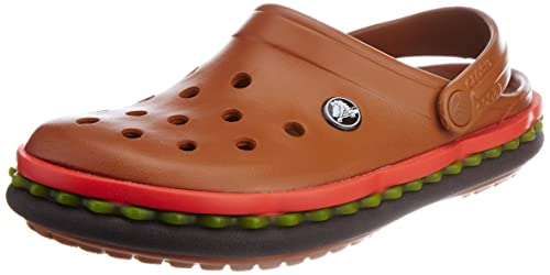 9717dbffcd6c crocs Crocband Hamburger Men Clog in Multi Color  Buy Online at Low Prices  in India - Amazon.in