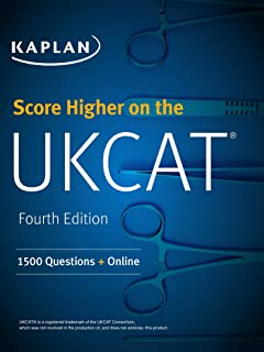Score Higher on the UCAT: 1500 Questions + Online (Kaplan