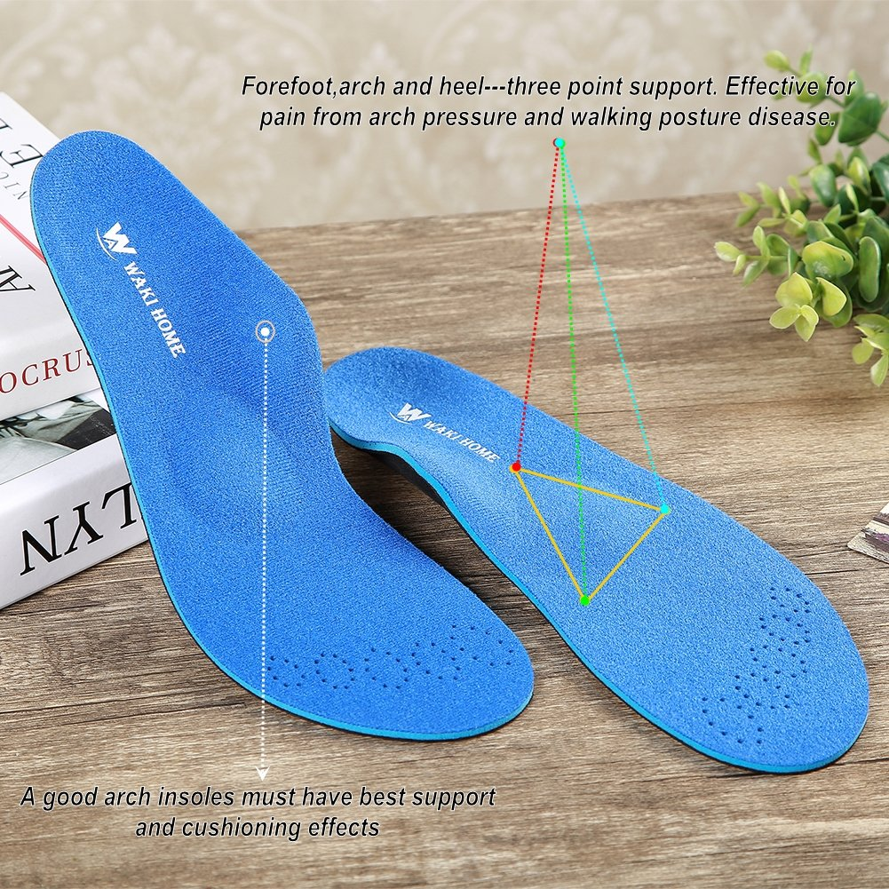 Orthotics Insoles Inserts Pads With Arch Supports For Flat