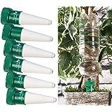 Royal Gardineer Blumenbewässerung: Pflanzen-Bewässerungssystem mit Tonspitze, 6er-Set (Bewässerung Flaschenaufsatz)