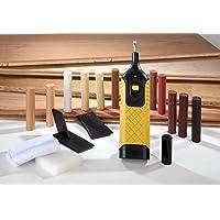 Westfalia Reparatur-Set für Laminat und Parkett mit 11 Farben Hartwachsstangen