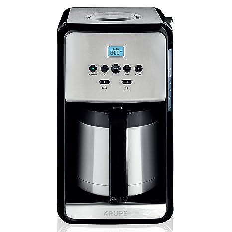 Amazon.com: KRUPS ET3530 SAVOY - Cafetera programable termal ...