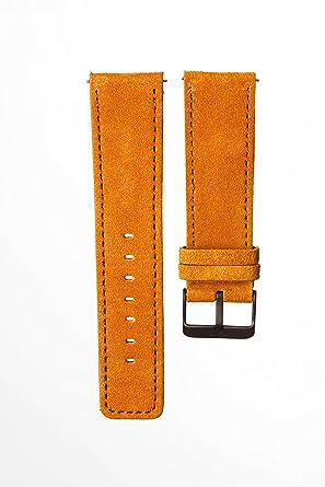 Lederarmband verschluss  WATZMANN strap // natural leather - Lederarmband - Verschluss ...