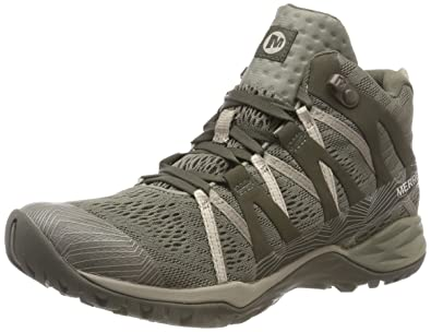 cd7b3f1e Merrell Women's Siren Hex Q2 Mid E-mesh GTX High Rise Hiking Boots
