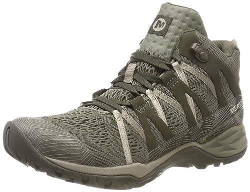 Merrell Siren Hex Q2 Mid E-Mesh GTX, Botas de Senderismo para Mujer: Amazon.es: Zapatos y complementos