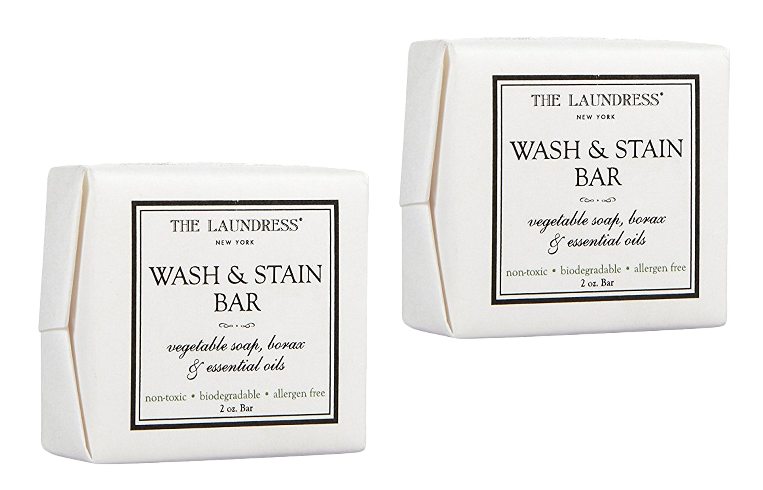 Set of 2 The Laundress 2 oz. Classic Wash and Stain Bar bundled by Maven Gifts