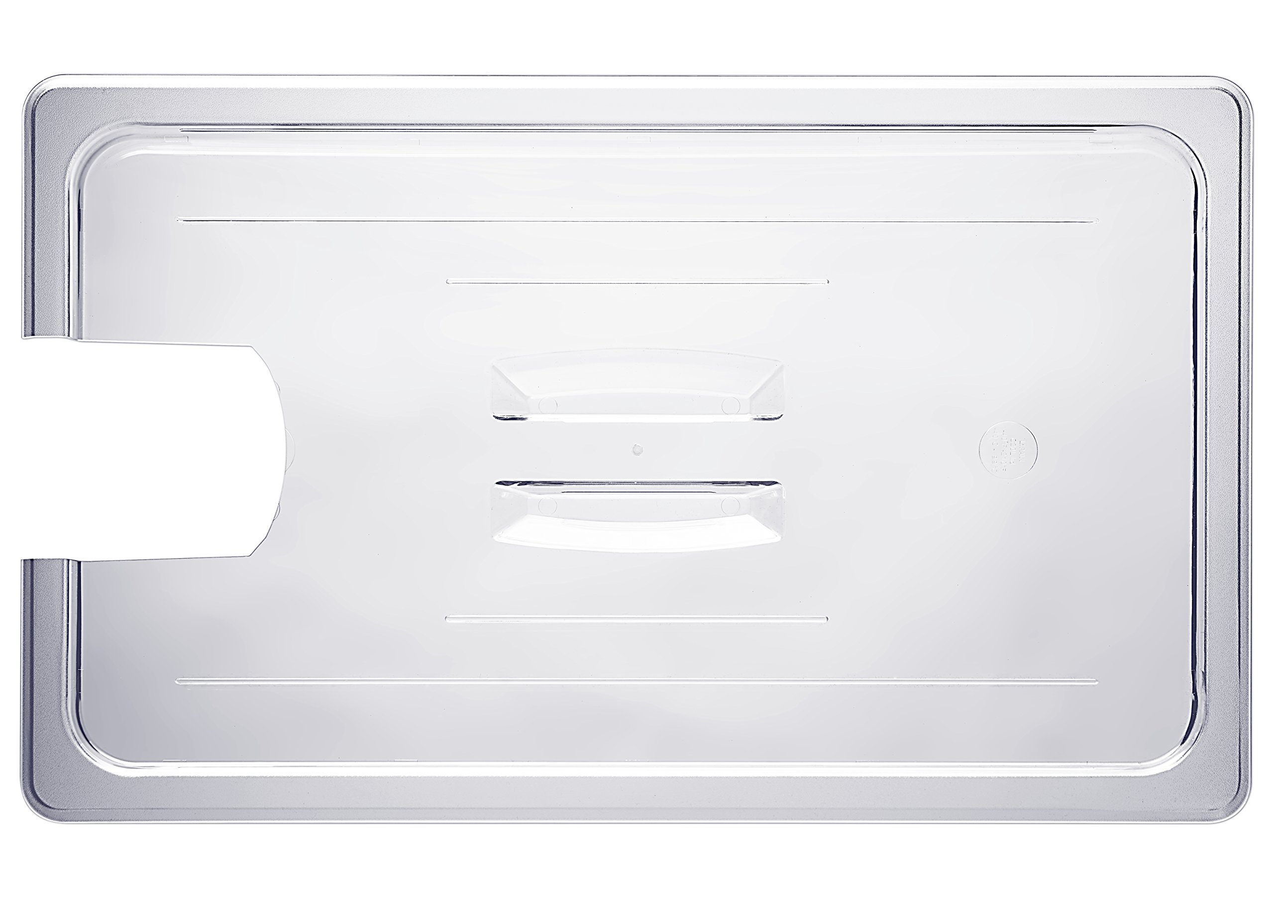C20L-PCR Lid for LIPAVI C20 Sous Vide Container, with cut-out for the PolyScience Creative immersion circulator