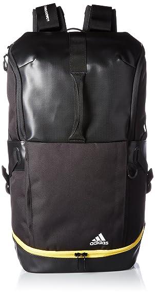 d8c4d760d0403 Amazon | [アディダス] リュック テニス ラケットバッグパック ブラック/イーキューティーイエロー S16 | テニスラケットバッグ・ラケット トート