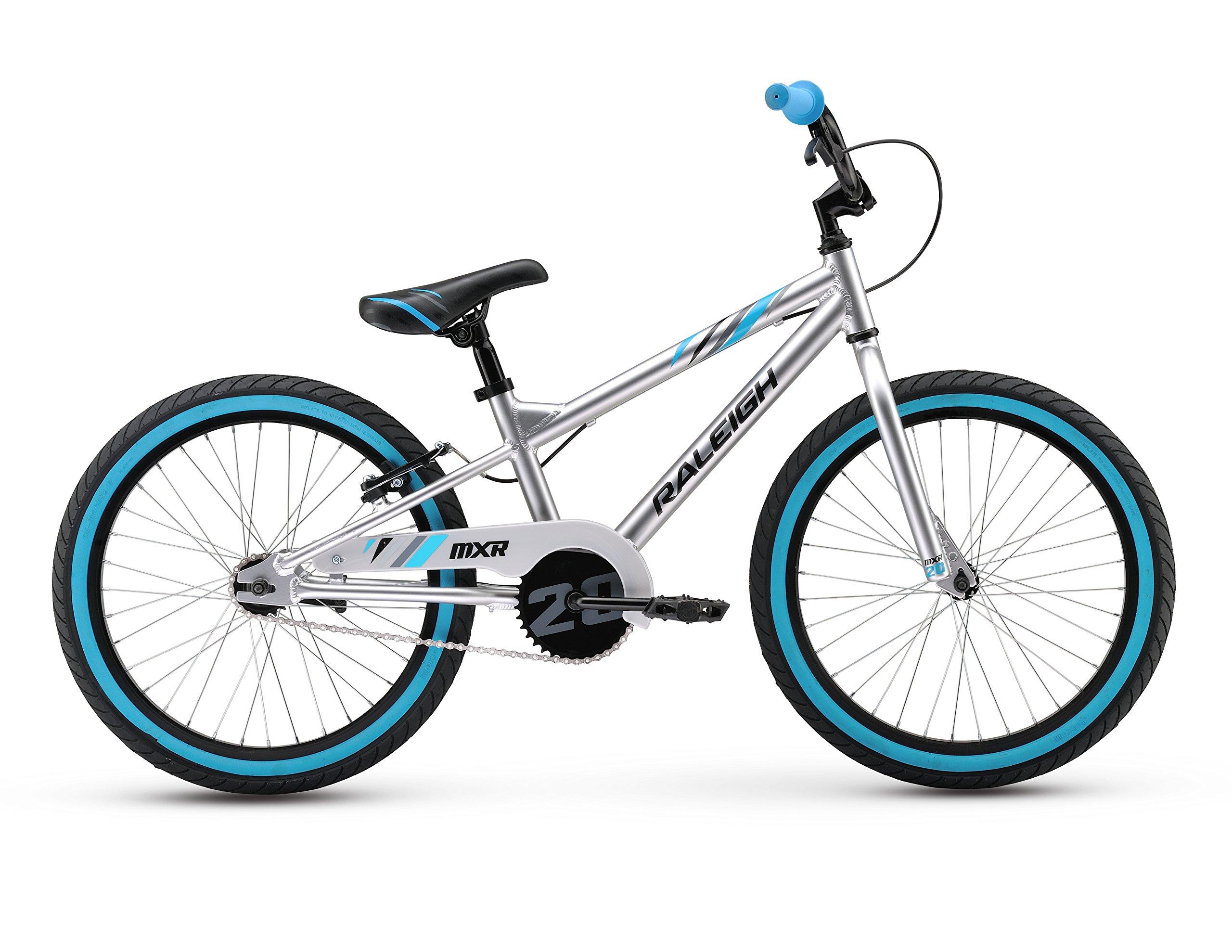 Raleigh Bikes Kids MXR 20 Bike, One Size, Silver