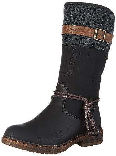 b565ec8db9a123 Rieker Damen 94778 Stiefel  Rieker  Amazon.de  Schuhe   Handtaschen
