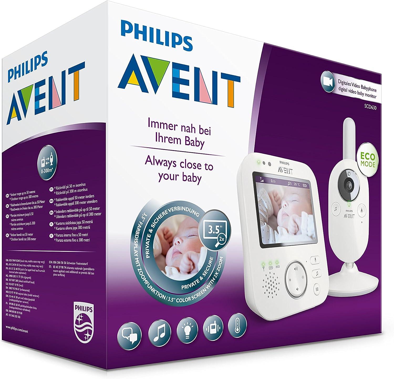 3.5/ Philips Avent scd630//26/Babyphone vid/éo