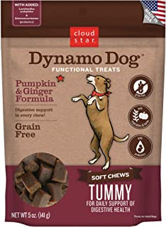 product image for Cloud Star Dynamo Dog Functional Treats - Tummy - Pumpkin & Ginger - 5 oz (20210)