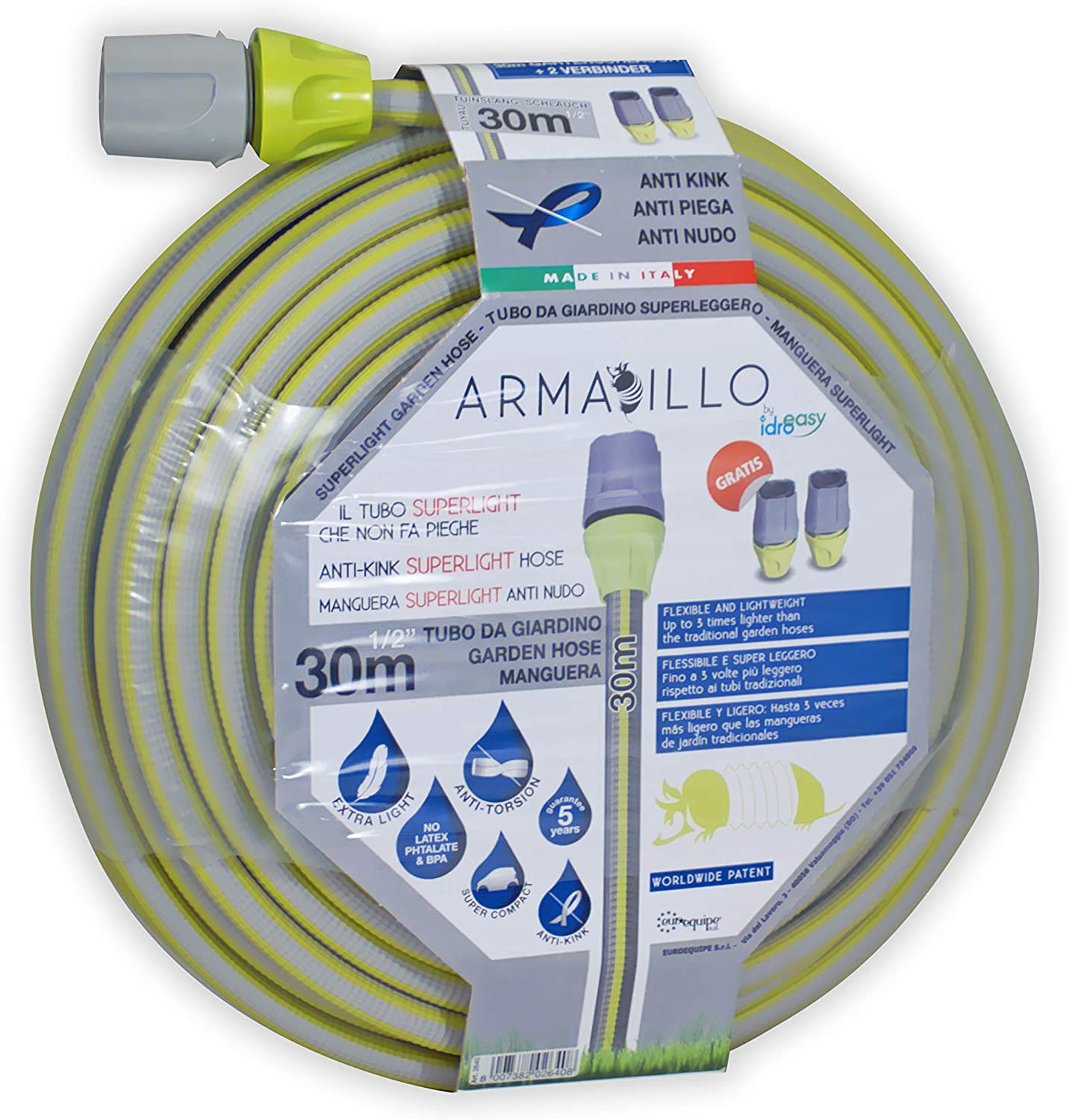 IDRO EASY 2640 - Manguera superligera Armadillo - 1/2