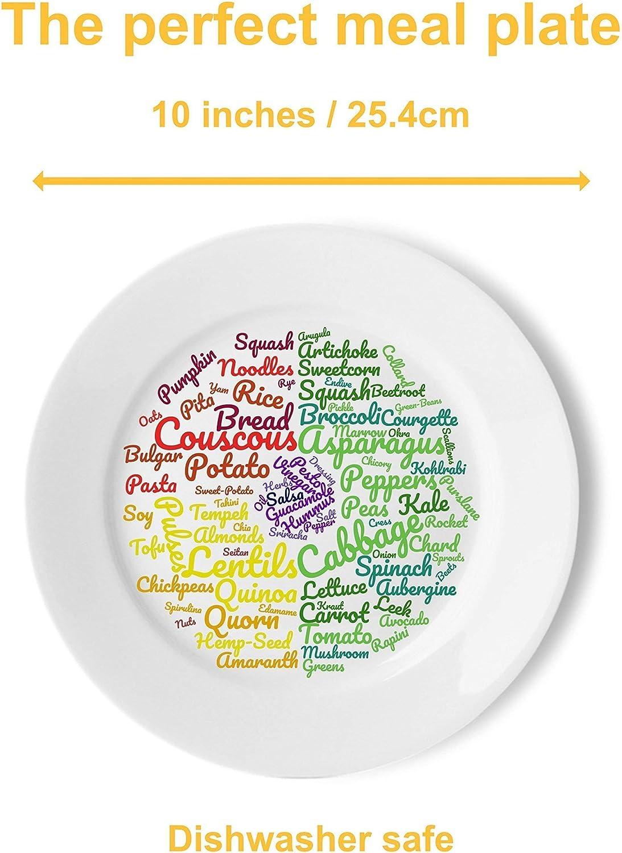 Magnifiquement con/çues pour Suivre Un r/égime v/ég/étalien ou v/ég/étarien Les id/ées Alimentaires et contr/ôle des portions pour Une Perte de Poids Durable j/&m Assiette Saine V/ég/étalienne