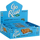 Go Raw Organic Sprouted Superfood Bars, Pumpkin Seed (case of 10 small bars)