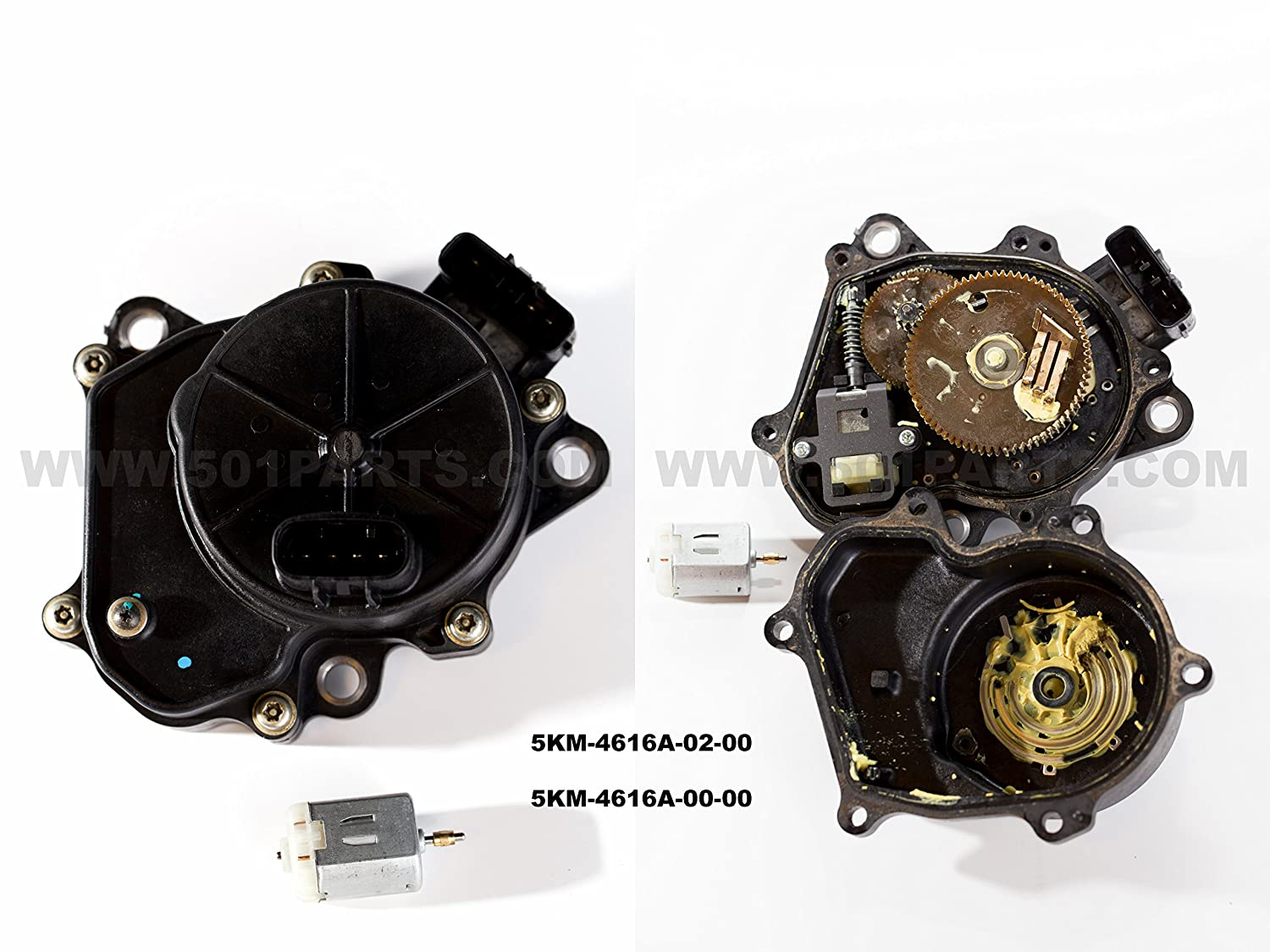 New Yamaha All Terrain Vehicle Four Wheel Drive Servo Polaris Ranger Xp 700 4x4 Rear Differential Solenoid Circuit Diagram Actuator Motor Replaces Parts 5km 4616a 02 00 And 5gh Fits 1998 2007
