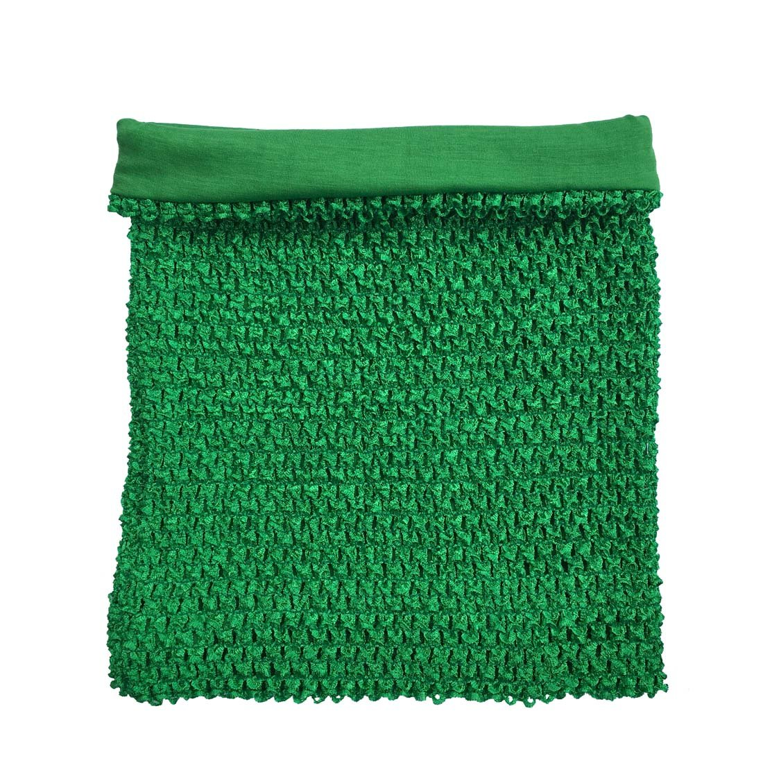 Amazon Green Crochet Tutu Top Lined 12 Inches X 10 Inches