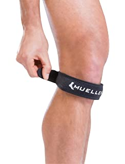 2b0b760942 Amazon.com: Mueller Max Knee Strap, Black, One Size Fits Most ...
